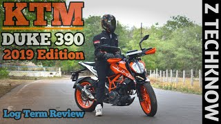 KTM Duke 390 2019 Edition Detailed Review in Hindi | Pros & Cons | Real Mileage | Price | Z Techknow