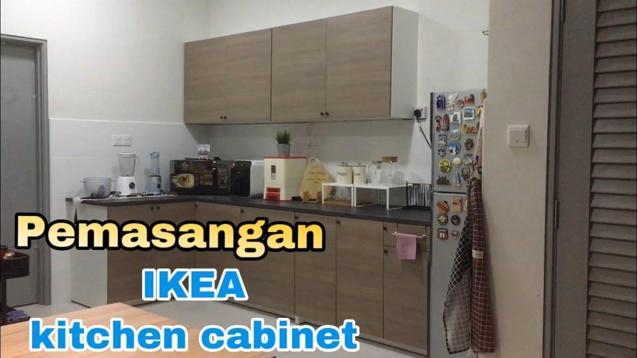 Cara Pemasangan How To Install Ikea Kitchen Cabinet Knoxhult Youtube