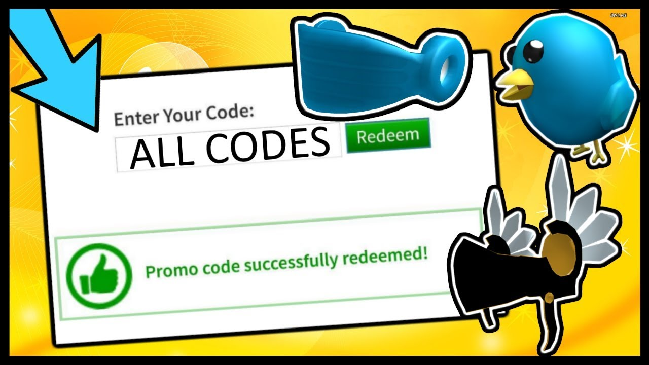 ALL ROBLOX PROMO CODES! (2014 - 2019) - YouTube on Promo Code Roblox id=30435