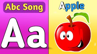 Abc Song | Abcd | A for apple | Abc kids | Nursery Rhymes Hindi balgeet