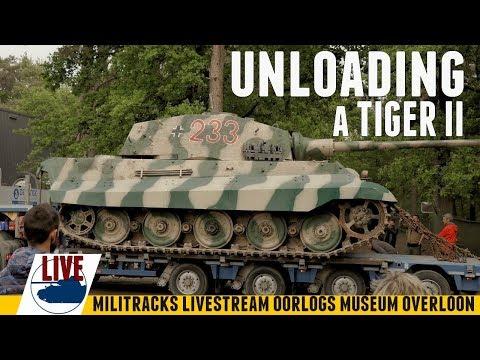 Unloading A Tiger II