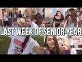 LAST WEEK OF SENIOR YEAR VLOG! // highschool week in my life