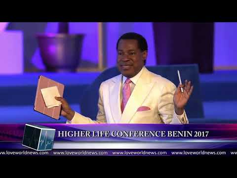 Magnificent moments of higher life conference BENIN 2017 with PASTOR Chris (video)
