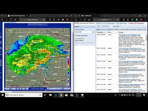 Sioux Falls, South Dakota Area Tornado And Severe Weather Coverage NOAA Weather Radio WXM28