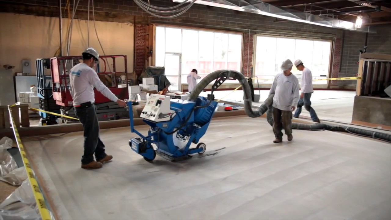 Epoxy Floor Installation Stonhard Stonclad UT YouTube