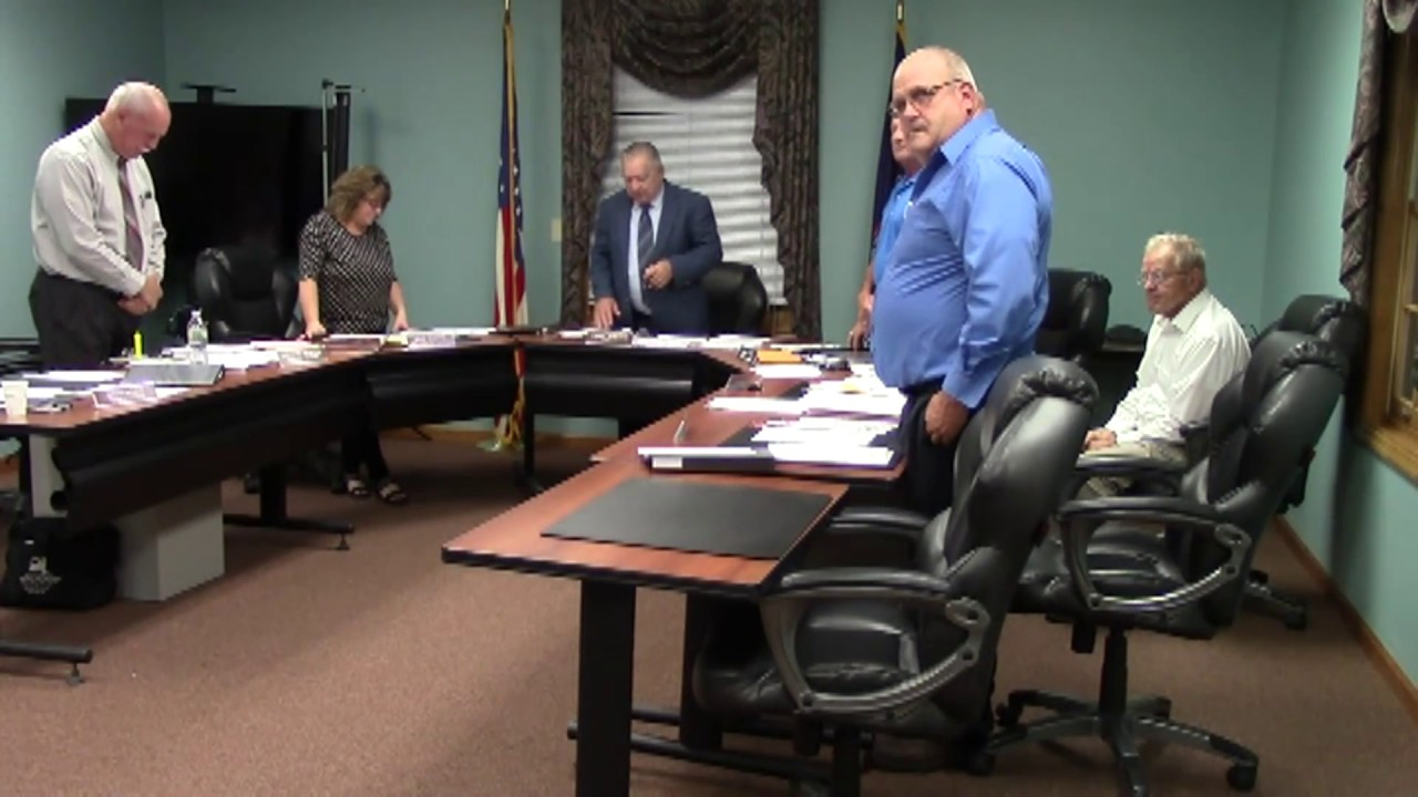 Champlain Town Board Meeting  10-9-18