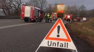 Schwerer Unfall auf der Hunsrückhöhenstraße