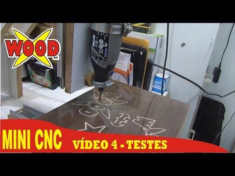 X-WOOD - 4# MINI CNC FÁCIL E BARATA - FAÇA VOCÊ MESMO. DIY CNC - VIDEO