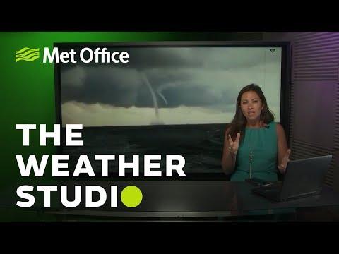 Waterspouts & midges | The Weather Studio Live S1E5 | 03/07/18