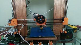 Homemade Prusa I3 Box Frame 3d Printer Pla Print