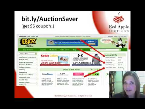 Buying acrylic frames for your silent auction displays and my love of eBates