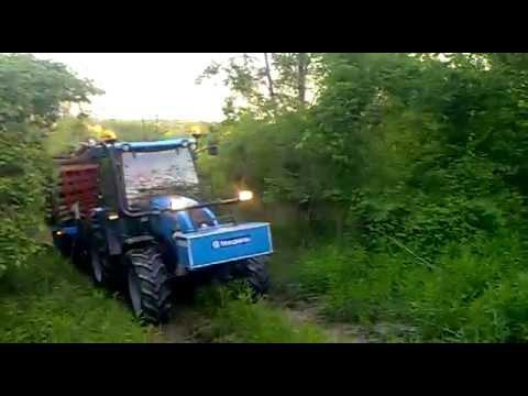 Rimorchio forestale trazionato con girello youtube for Rimorchio agricolo piemonte