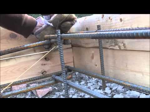 Floating Concrete Slab DIY Rebar YouTube