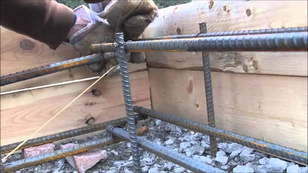 Elegant Floating Concrete Slab DIY Rebar   YouTube