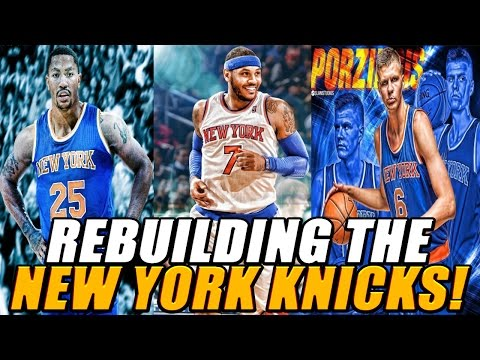 NBA 2K17 MyLEAGUE: Rebuilding the New York Knicks!