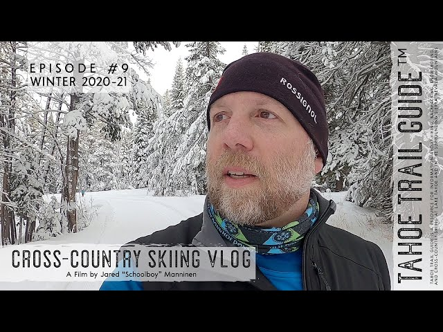 Outdoor VLOG 9: Skate Skiing and Snow-Flocked Trees