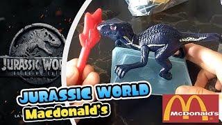 EN BUSCA DEL INDORAPTOR - Cajita Feliz McDonald´s Jurassic World Fallen Kingdom