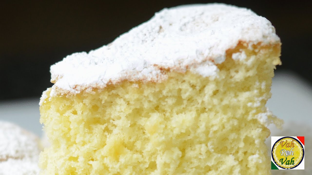 Light Lemon Sponge Cake Recipes: Quick And Easy Vanilla Cake