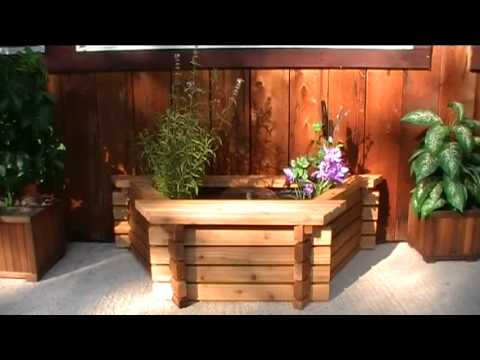 Above Ground Pond Kits Wall Pond Youtube