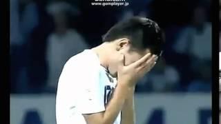 韓国の選手ウズベキスタンチームに殴られる!!(サッカー)
