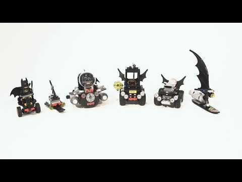 Designer Series #4: Micro Builds - LEGO Batman Movie - Mini Movie