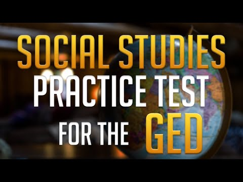 Social Studies Practice Test For The GED Exam