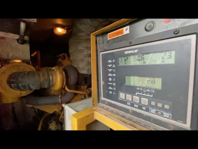 CAT 3412 with overload / under voltage issues