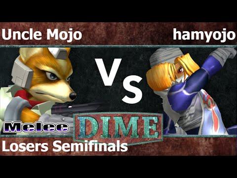 DIME 19 - SU   Uncle Mojo (Fox) vs FX   hamyojo (Sheik) Losers Semifinals - Melee