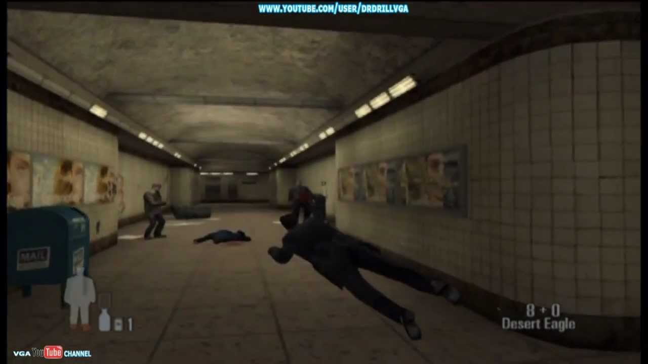 Max Payne Xbox Gameplay Part 1 Youtube