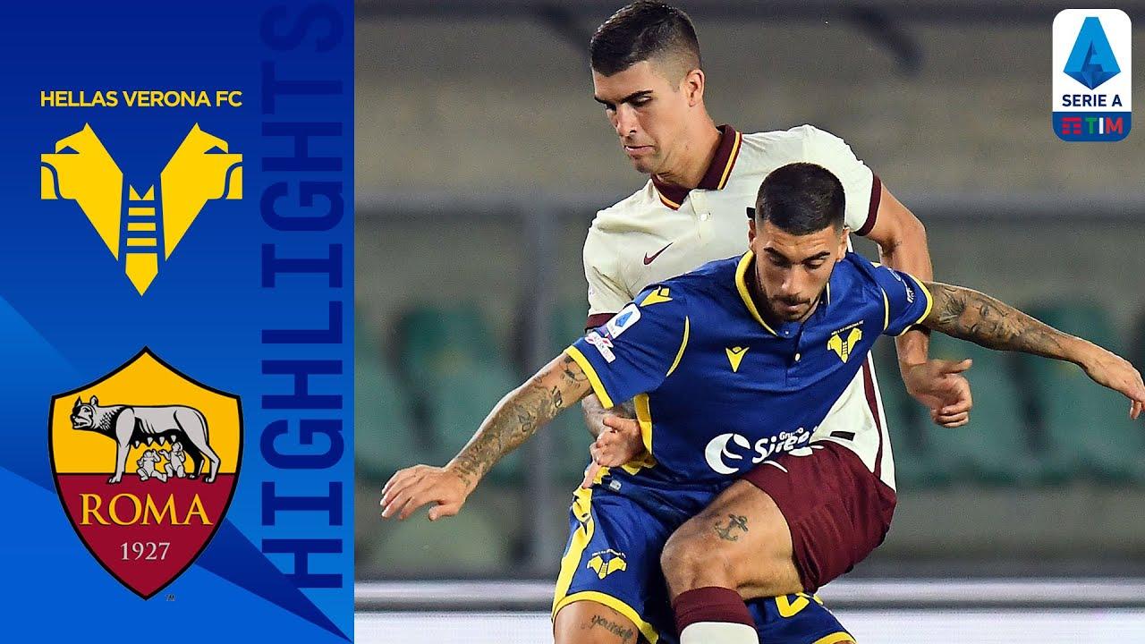 Hellas Verona 0-0 Roma | Pali e traverse, ma alla fine non la spunta nessuno | Serie A TIM