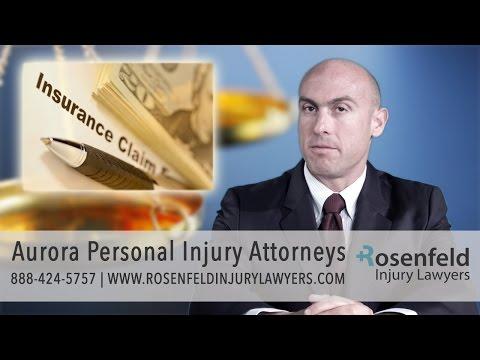 Tough Aurora Personal Injury Attorneys | Rosenfeld Injury Lawyers