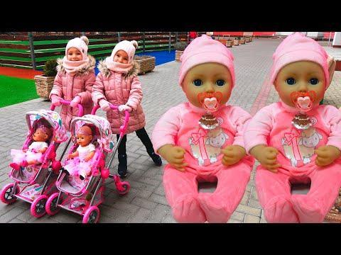 Куклы Беби Бон Настя и истории для детей Ксюша и Арина играют Как Мама