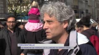Présidentielle : le marché de Versailles à l'heure du sprint final