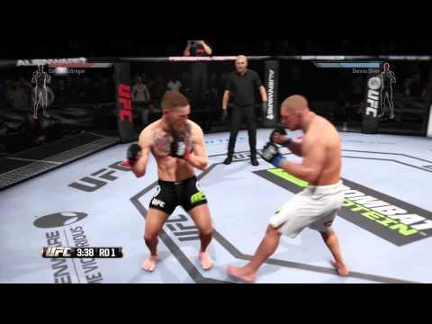 EA SPORTS™ UFC Fight Night: McGregor vs Siver Prediction Round 1