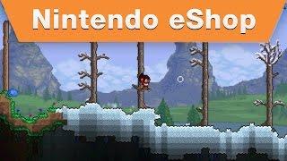 Terraria for Nintendo 3DS Launch Trailer