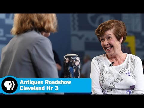 ANTIQUES ROADSHOW  | 1921 Arthur Conant Rookwood Porcelain Vase | Cleveland Hr 3 Preview | PBS