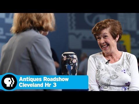 ANTIQUES ROADSHOW  | 1921 Arthur Conant Rookwood Porcelain Vase | Cleveland Hr 3 Preview | PBS