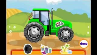 Развивающий мультик про трактор