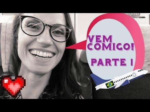 Diário de Férias no Brasil 2017    - PARTE 1 -