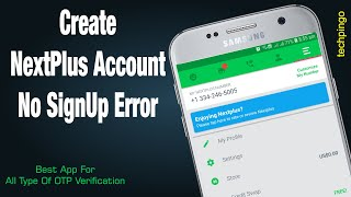 How To Fix Nextplus Sign Up Error screenshot 3