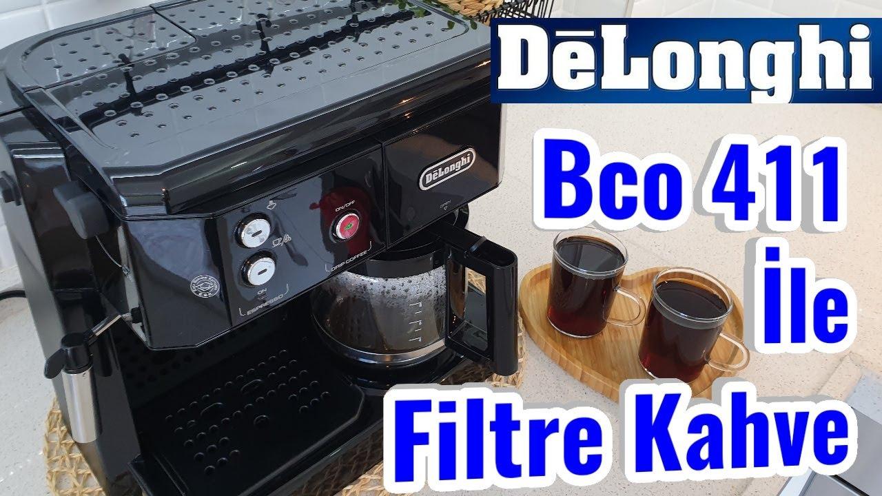 Delonhgi BCO 411 Kahve Makinesi ile Filtre Kahve Nasıl Yapılır ?