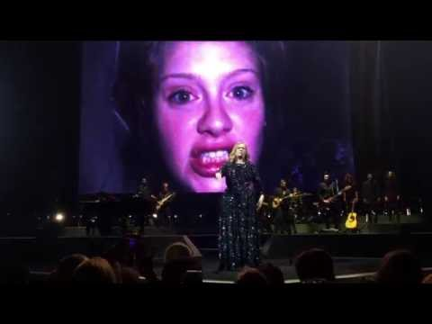 Adele - When We Were Young, live at Ziggo Dome Amsterdam (June, 3rd 2016)