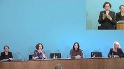 17.03.2020 - Berliner Senat - Landespressekonferenz zum Coronavirus [Lautstärke korrigert]