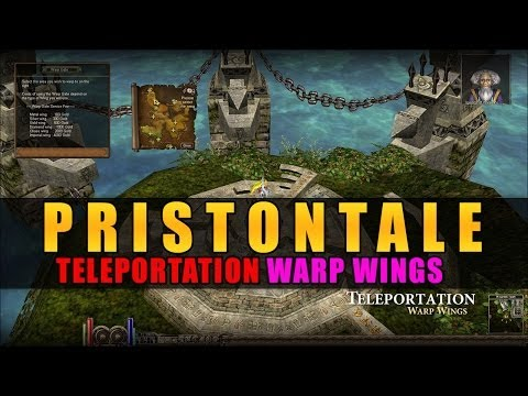 Teleportation Warp Wings Guide Gameplay - Priston Tale