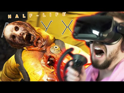 WHY IS THIS SO SCARY!?   Half Life Alyx (VR) – Part 2