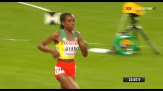 Ethiopia Almaz Ayana Wins 10 000m and Tirunesh Dibaba finished in second place