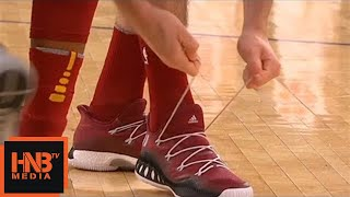 Cedi Osman Lost His Shoe / Cleveland Cavaliers vs New York Knicks