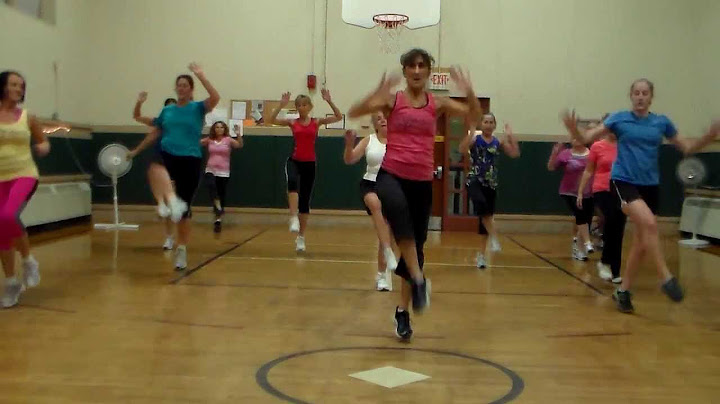 andrea dance fitness for cant hold us