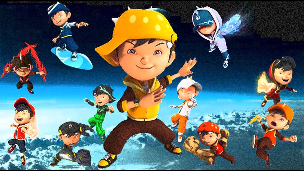 Boboiboy Galaxy Wallpaper Hd Sc Kegelapan Kuasa 7 Youtube
