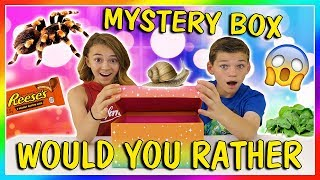 MYSTERY BOX WOULD YOU RATHER CHALLENGE😂| We Are The Davises